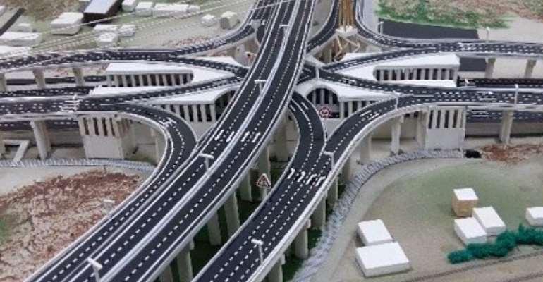 Pokuase Interchange, Local Roads 57% Complete — Engineer