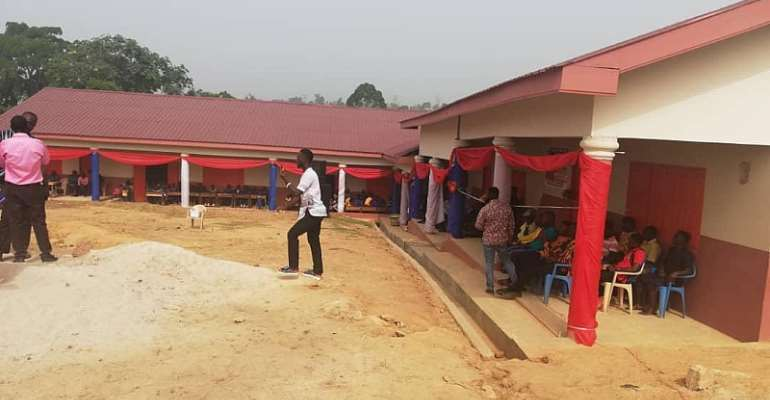 Sefwi Wiawso MP Hands Over Classroom Blocks To Three Communities