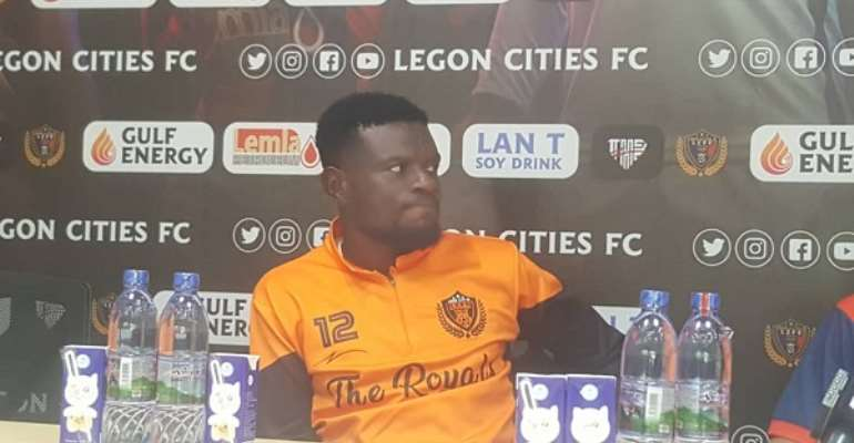 I'll Use My Experience To Help My Teammates, Says Legon Cities FC's Fatau Dauda