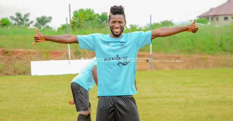 Asante Kotoko, Didi Alexis Mutually Part Ways