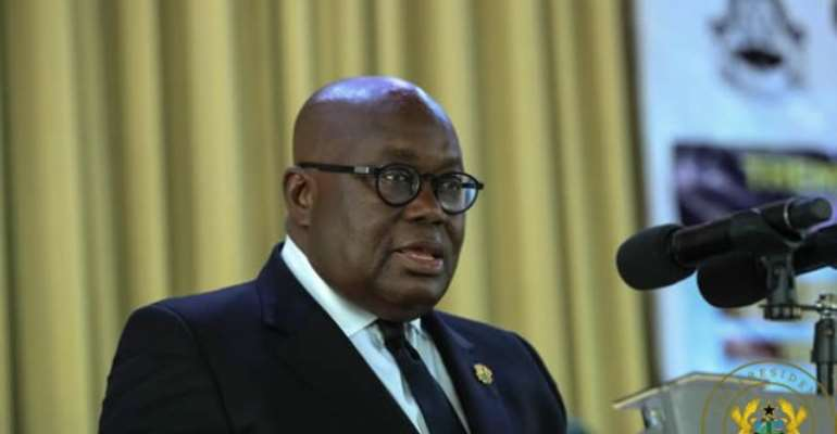 Akufo-Addo hints of law to protect Free SHS policy