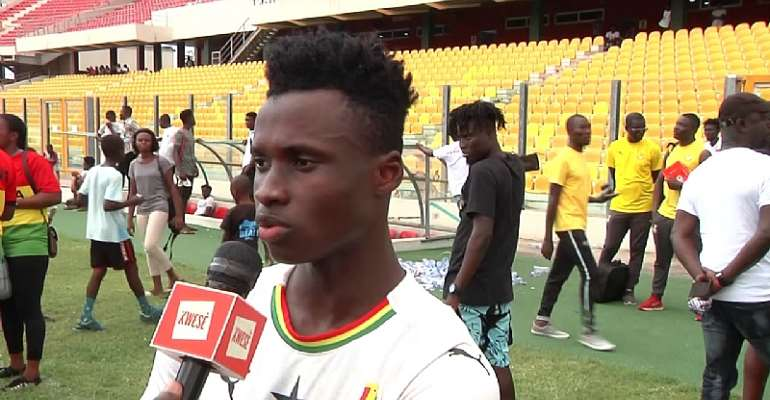 CAF U-23 AFCON: Evans Mensah Insist Ghana Is Ready To Face Egypt Tomorrow