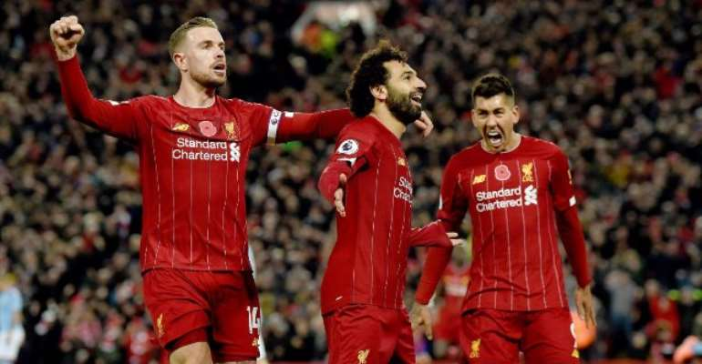 PL: Liverpool Go Eight Points Clear With Dominant Win Over Man City