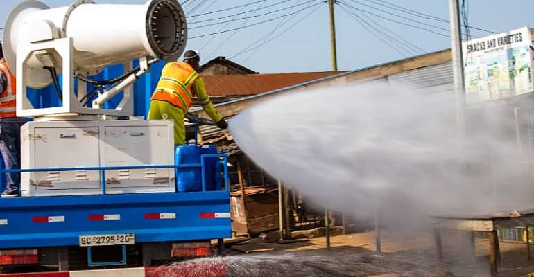 COVID-19: Gov't Commences 3rd Phase Of Market Disinfection