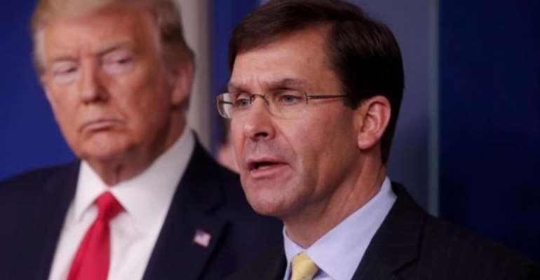 Trump's Ousting Of Pentagon Chief Sends Shockwaves Through Washington