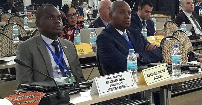 African Court Judges at the Third Judicial Dialogue at Arusha, Tanzania