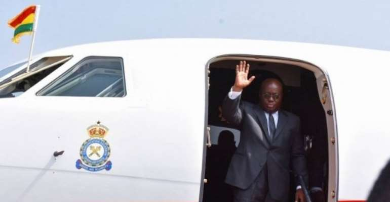 Akufo-Addo Flys To South Africa For 2nd Africa Investment Forum