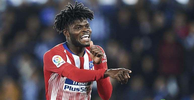 Thomas Partey At Atlético Madrid