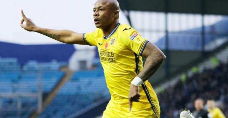 Watch André Ayew's Goal In Swansea City's Stalemate With Sheffield Wednesday [VIDEO]