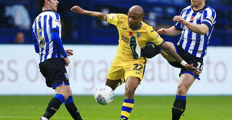 Steve Cooper Reveals Andre Ayew's Disappointment After Swansea City Draw With Sheffield Wednesday
