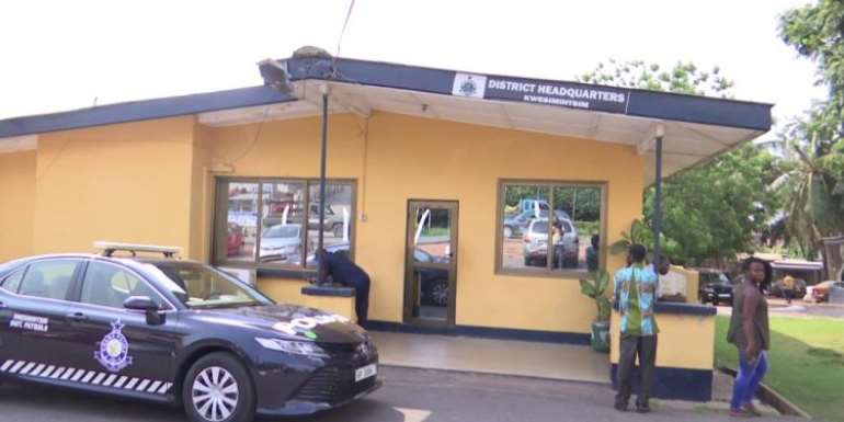 Police Grab Suspect Behind Cutlass Attack At St. Mary's Boys SHS