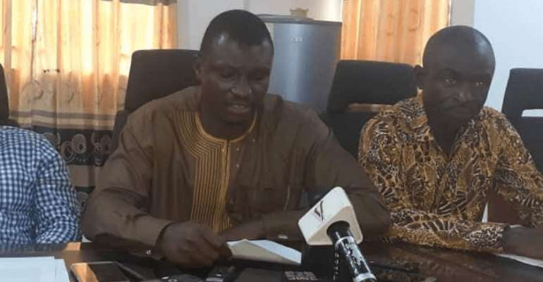 Mr Kafui Agbleze — Volta Regional Communications Officer of NDC