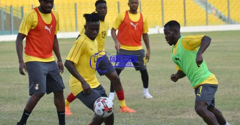 2021 AFCON Qualifiers: Black Stars Begin Preparation For South Africa, Sao Tome Clash [PHOTOS]