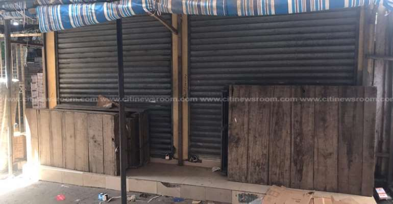 Foreign Traders' Shops Locked-Up Again At Opera Square
