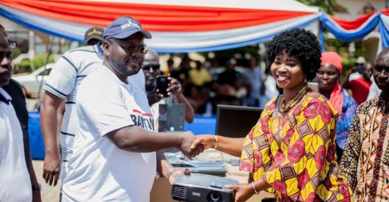 Asenso-Boakye Supports Bantama Schools With Computers