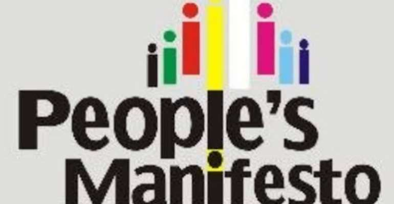 The Imperative Of 'People's Manifesto'