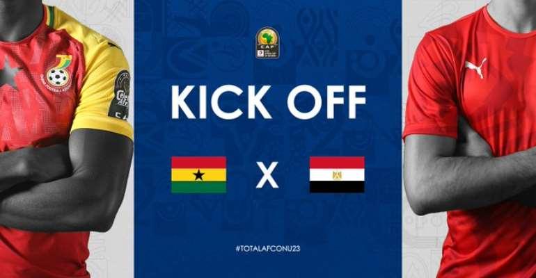 Watch Live: Ghana vs Egypt – CAF U-23 AFCON