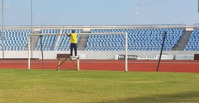Cape Coast Stadium Ready To Host Black Stars, South Africa [PHOTOS]
