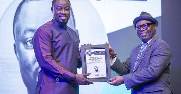 Managing Director of G4S Security Services, Mr. Michael Gyapah Inducted Into Ghana Corporate Hall Of Fame