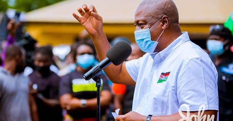 Collapsing Banks Akufo-Addo's Biggest Mistake – Mahama
