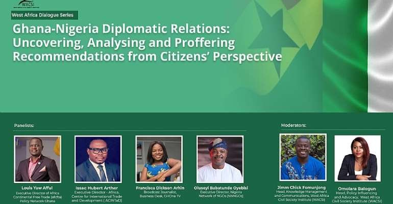 Ghana-Nigeria Trade Impasse: Uncovering, Analysing And Proffering Recommendations From Citizens' Perspective