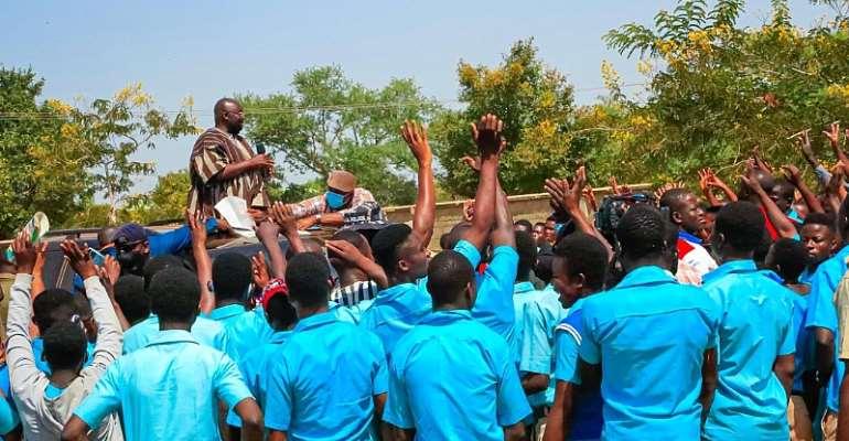 Address Us Or You Won't Go — Students Block Bawumia To Address Them