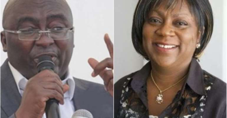 Ghana Post GPS: Valarie Sawyerr Descends On Bawumia