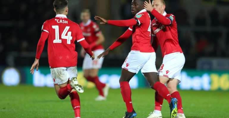 Nottingham Forest Wonderkid Arvin Appiah Tipped For Greatness