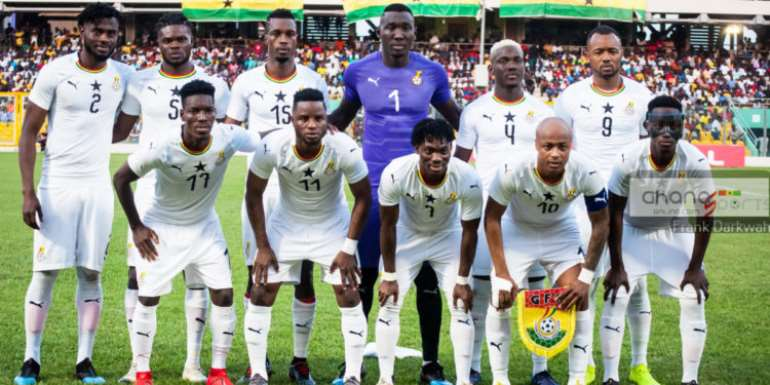 2021 AFCON Qualifiers: Ghana To Kick Off Camping On Nov. 10 For South Africa Clash