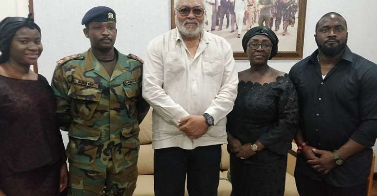 Dzifa Gomashie, Family Invite Rawlings To Late Husband's Funeral