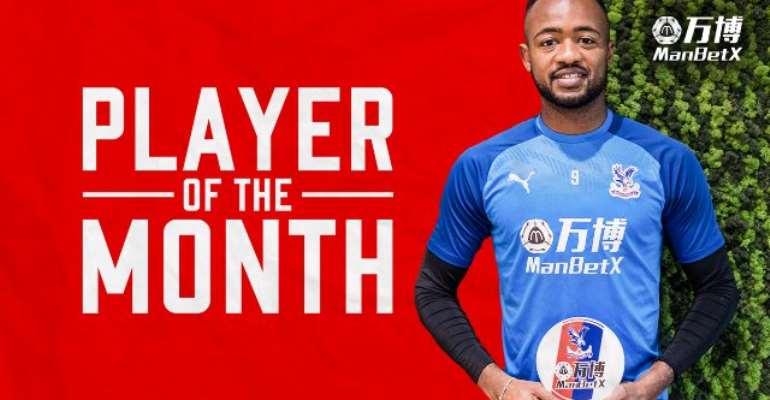 Ghana Forward Jordan Ayew Wins Crystal Palace Player Of The Month For October Award