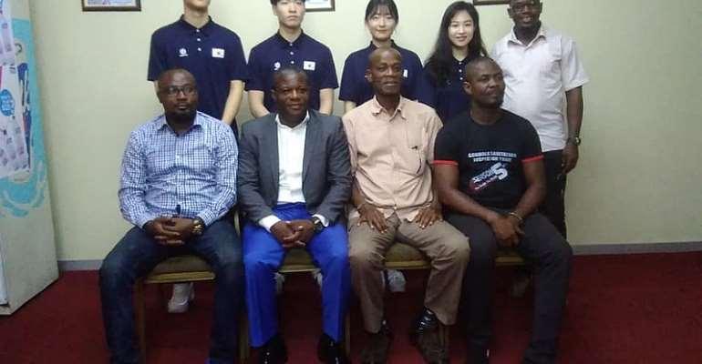 GOC Veep Hails Taekwondo President