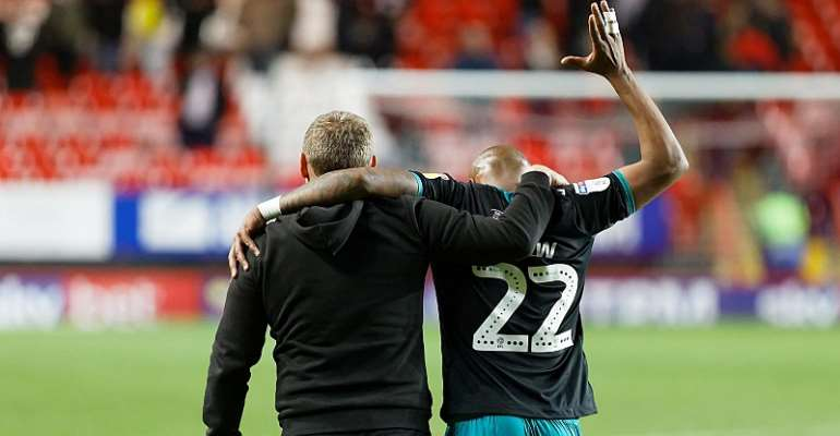 Andre Ayew Confirmed As Swansea City Vice Captain