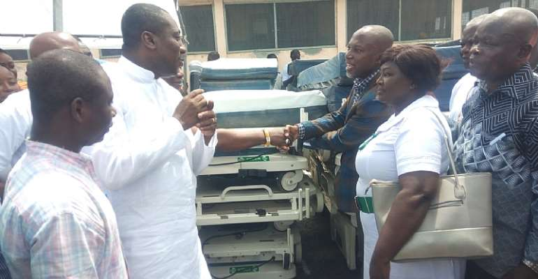 Afenyo-Markin Boosts Health Delivery In Winneba