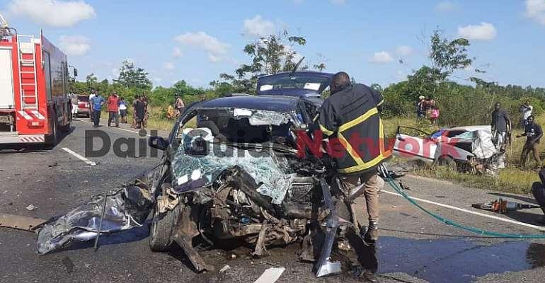 4 Dead In Car Crash On Adidome-Sogakofe Road