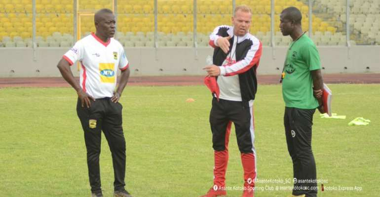 CAF CC: Kotoko Coach Zachariassen Names Man Squad For San-Pedro Game