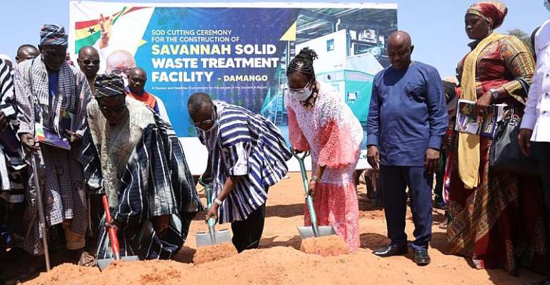 Savannah Region Gets Solid Waste Treatment Facility