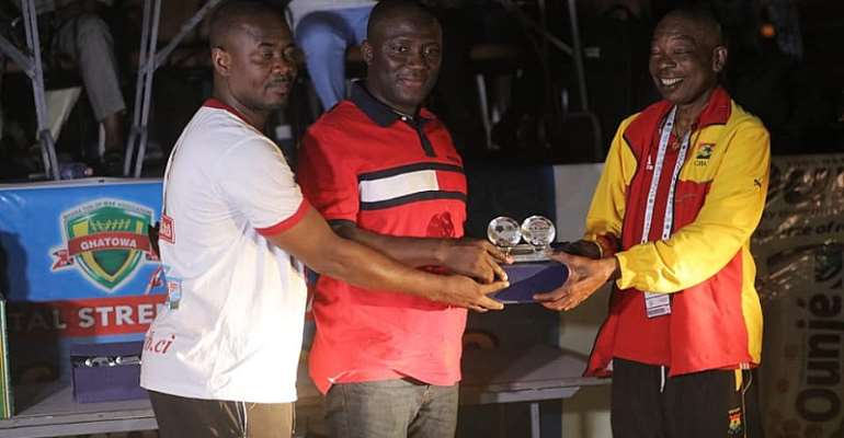 Mayor Of Accra Honored For Supporting Grassroots Sports