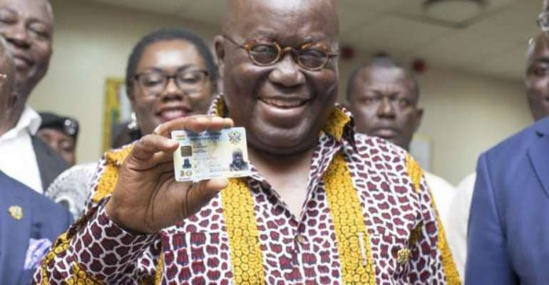 Don't Compromise National ID Data – Akufo-Addo To Stakeholders