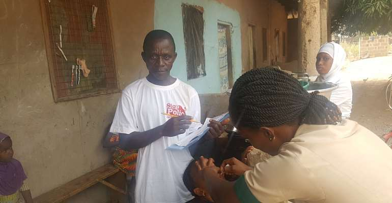 Pru East District Health Directorate Joins In The Fight Against Poliomyelitis