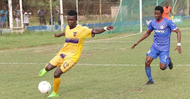 2019/2020 GHPL: Medeama Draw 1-1 With Liberty To Remain Unbeaten