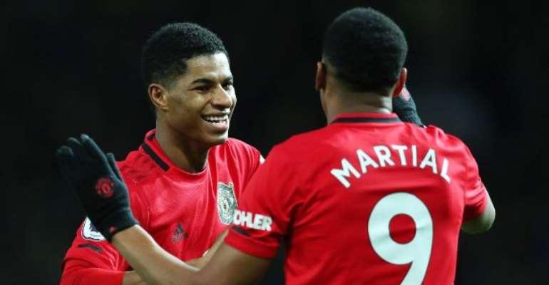 PL: Rashford Stars As Man United Smash Four Past Norwich To Go Fifth
