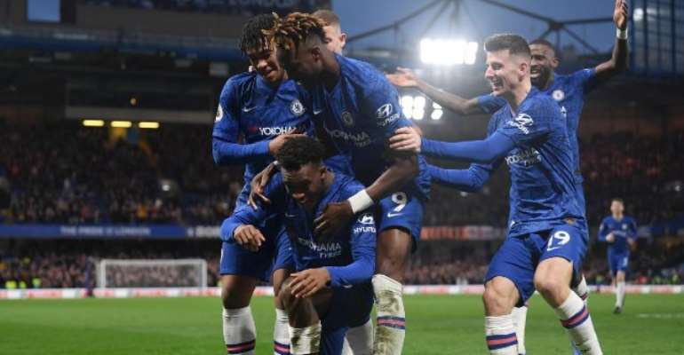 PL: Hudson-Odoi Nets First Premier League Goal As Chelsea Hammer Burnley