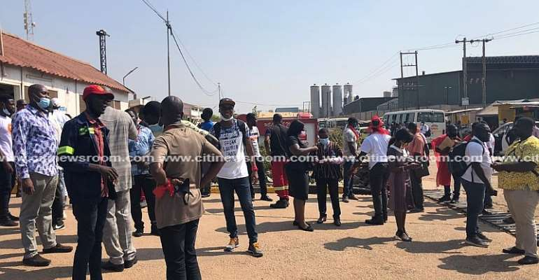 Coca-Cola workers protest unfair dismissal of colleagues