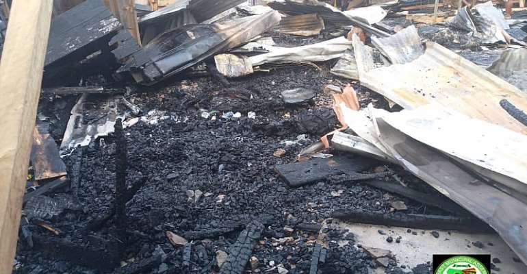 Ga East MCE warns encroachers of Kwabenya-Atomic market land following fire incident