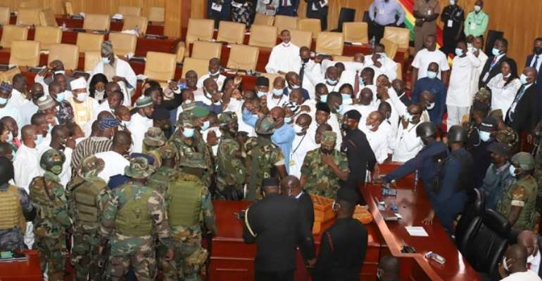 Right Alliance Africa condemns military invasion of parliament, demand investigations