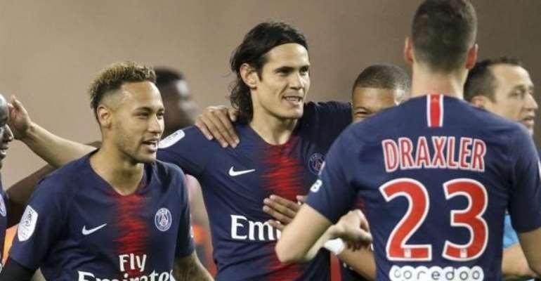 Edinson Cavani has scored eight goals in eight Ligue 1 games this season