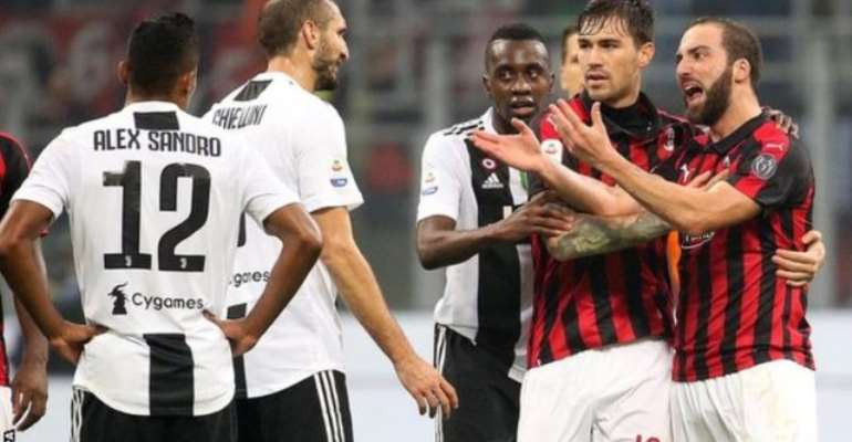 Higuain left Juve to join Milan in August