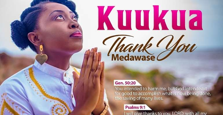 New Gospel Singer Kuukua Drops Single