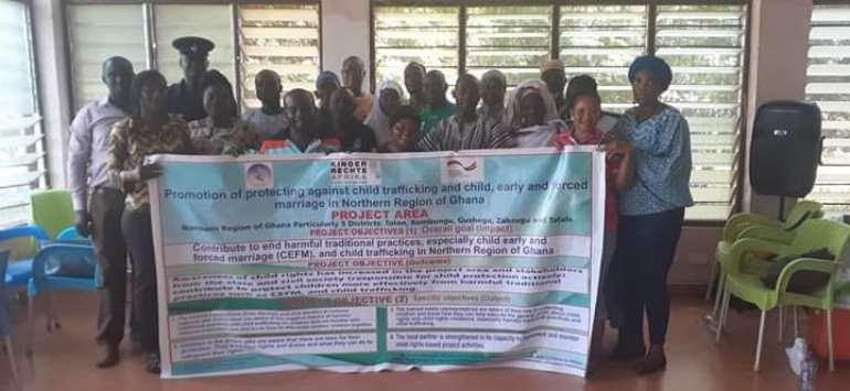 PAOR-VWC Sensitizes Kumbungu Community On How To End Child Marriage